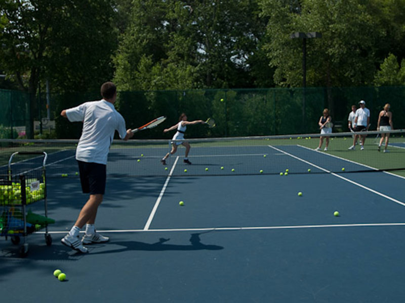 Sea Colony Weekend Tennis Camps offer 8 hours of high-quality instruction over three days.