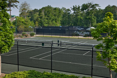 Sea Colony Tennis offers 14 Har-Tru courts, as well as hard surface and indoor courts.